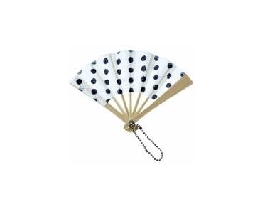 Mini paper hand held fan